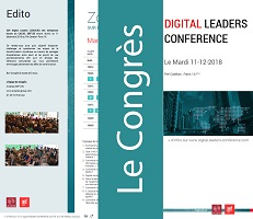 Programme du Congrès Digital Leaders Conference